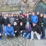 MIF utanför Magdeburgs Domkyrka