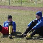 Lill-stinsen och Marcus vilar