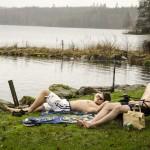 MIF-handduken - Chill vid Sämsjön